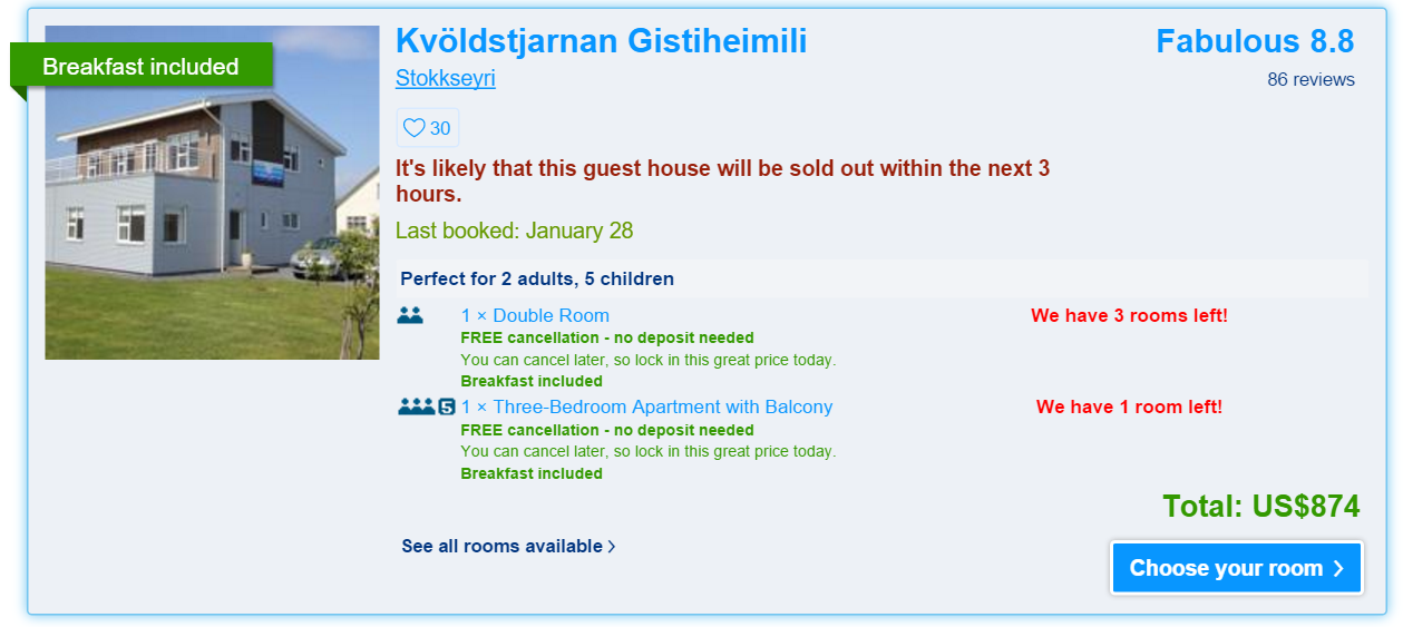 9 Tips For Using Booking Com In Iceland Or Anywhere